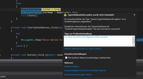 FehlerInVS - (Windows, Programm, programmieren)