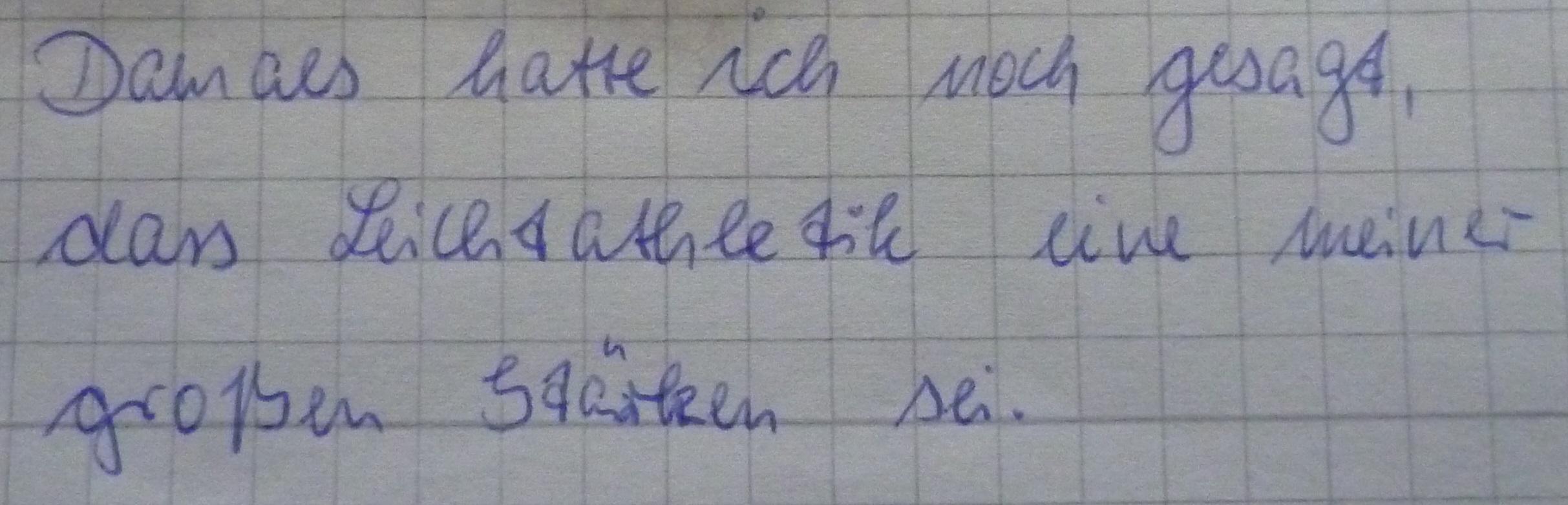 was k246nnte man an meiner schrift verbessern schreiben