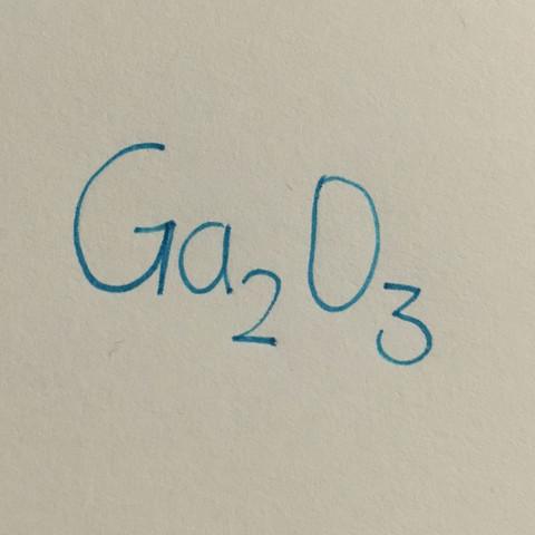 Gallium und Sauerstoff  - (Chemie, Biologie, Elemente)