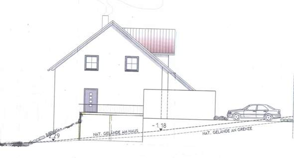 was koste so ein keller bei einem hanggrundst ck plan. Black Bedroom Furniture Sets. Home Design Ideas