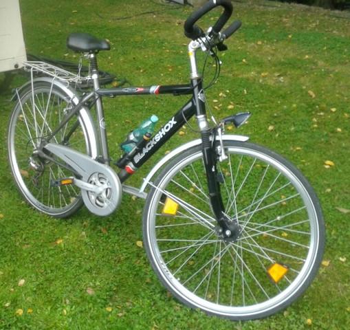Das Fahrrad - (Fahrrad, Reifen, aufziehen)