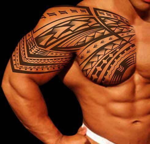 Tattoo schulter oberarm Rosen Tattoo