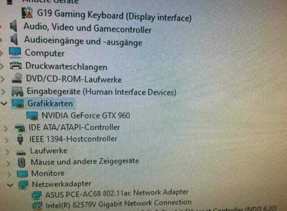 Was läuft auf diesen PC Grafikkarte Rechner Gaming PC?