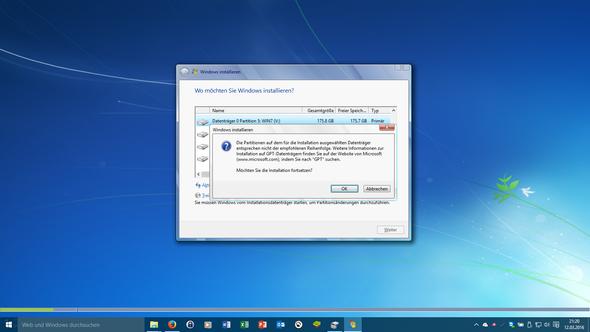Wie Festplatte als GPT formatieren? - (Computer, Windows, Windows 7)