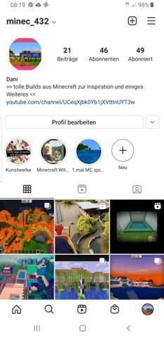 Was mache ich in Instagram falsch?