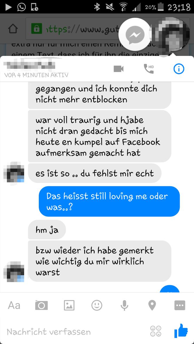(Liebe, Ex Freund)