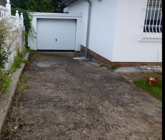 Garageneinfahrt  - (renovieren, Garage, Sanieren)