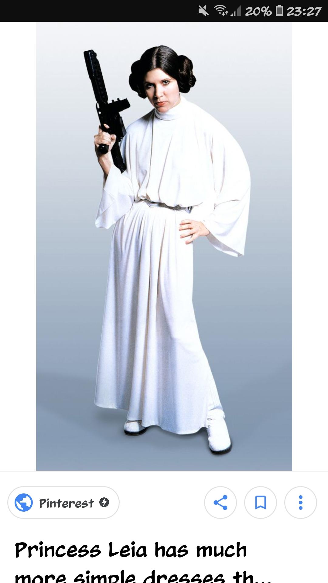 Was Muss Ich Alles Kaufen Das Ich Das Outfit Von Prinzessin Leia Aus