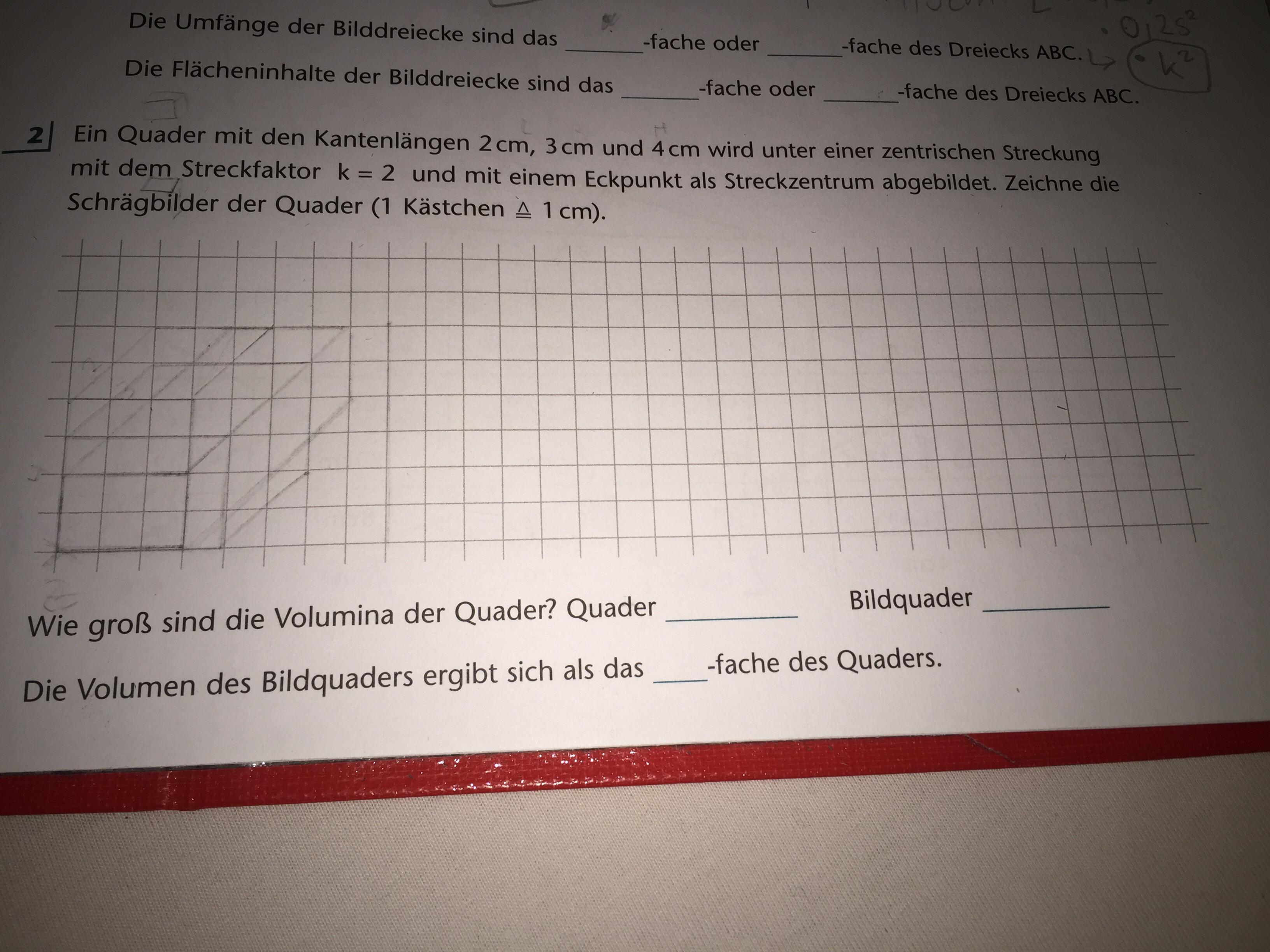 Was muss ich bei dieser Matheaufgabe machen?(Ähnlichkeit)? (Schule ...