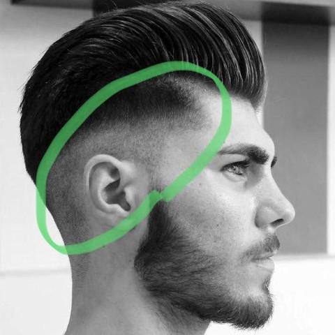 Frisur Mit übergang
