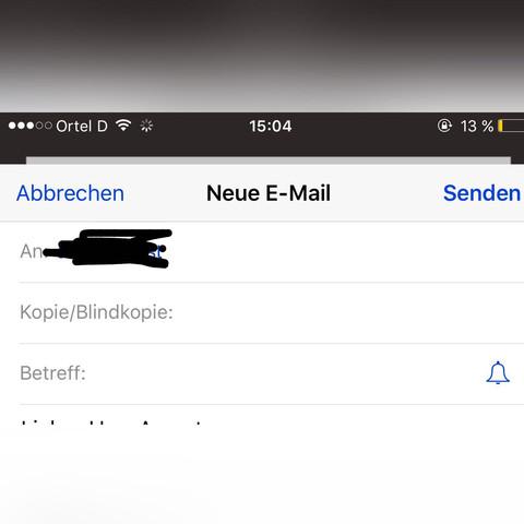 Email  - (Handy, Email, Nachricht)