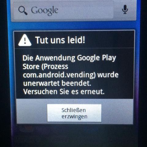 Was soll ich tuen - (Android, Fehler)