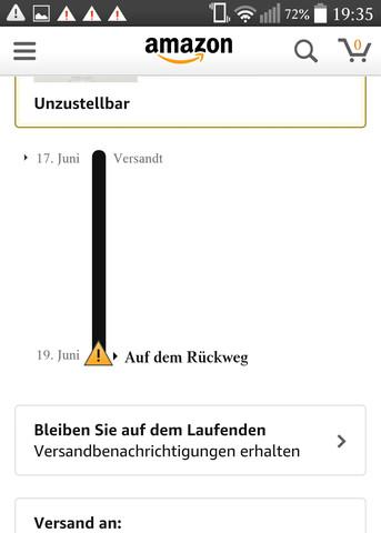 - (Amazon, Paket)