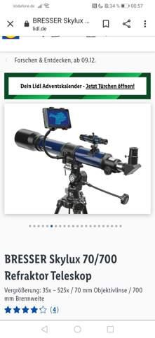 Was passiert wenn mein teleskop wackelt?