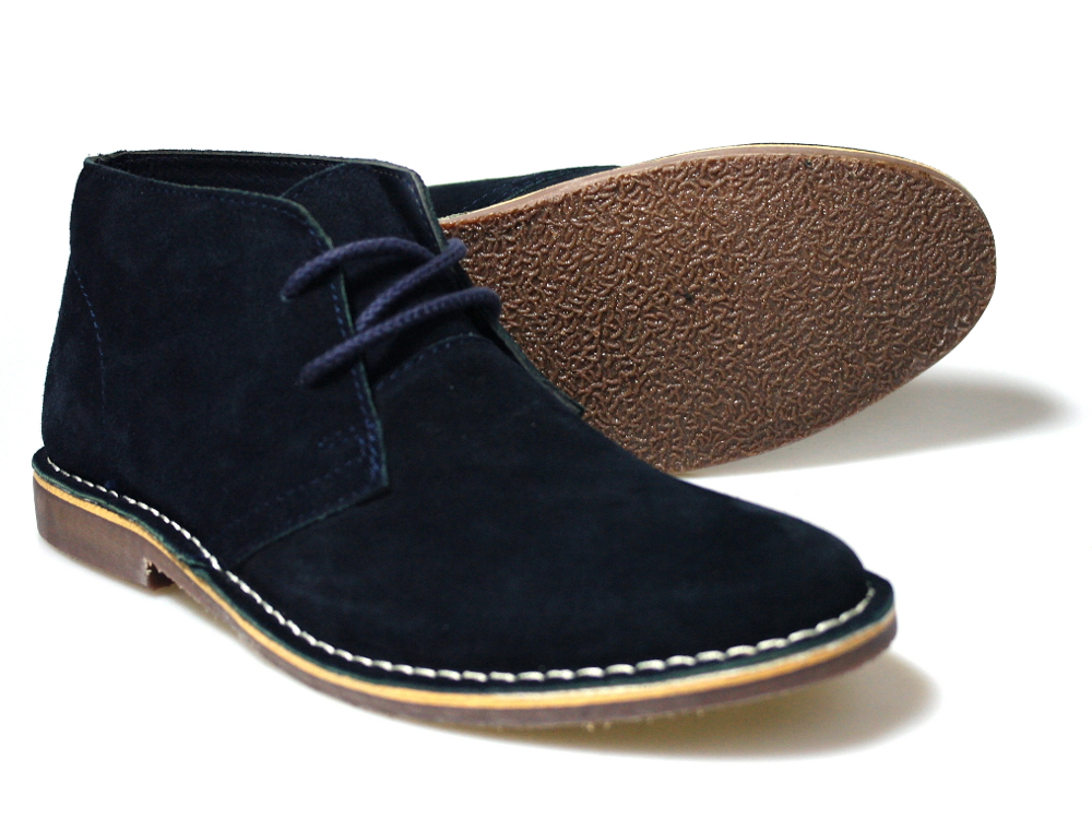 was passt zu desert boots navy blau mode schuhe hose. Black Bedroom Furniture Sets. Home Design Ideas