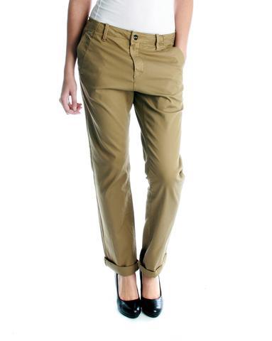 Stoffhose beige - (Mode, Hose, anziehen)