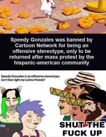 Was sagen meine Linken Freunde zu Speedy Gonzales?