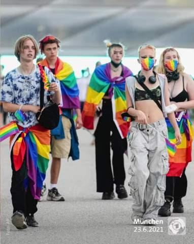 Was sagt euch das Bild über die LGBT Jugend aus?