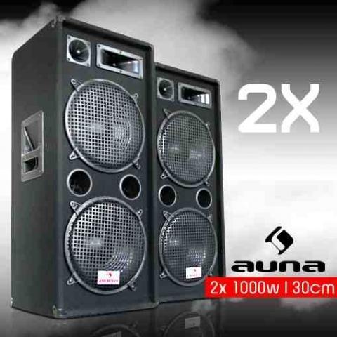 Was sagt ihr zu Auna PW-2222 Boxen gut oder schlecht?