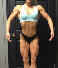 Muskulös frau images.tinydeal.com Waden..:
