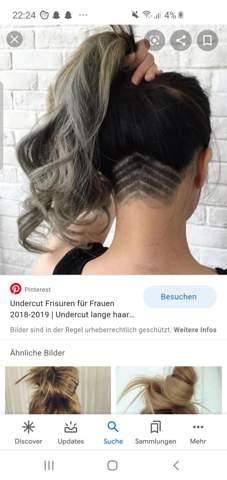 Locken undercut haare frauen lange Stilvoll Frisuren