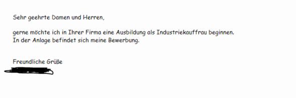Was Schreibe Ich In Die E Mail Bewerbung