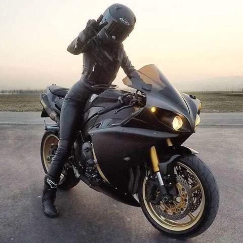 motorrad single frauen)