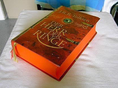 Das rote Buch - (Buch, HDR, Tolkien)