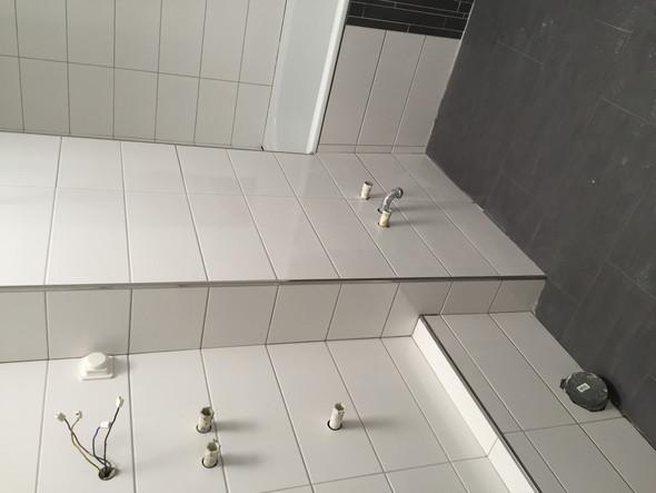 Was sind das für Anschlüsse im Badezimmer? (Wasser, Anschluss, Bad)