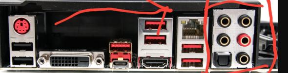 Was sind das für Audioanschlüße (Mainboard)?