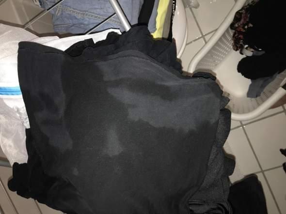 Was sind das für Flecken auf meiner Wäsche?