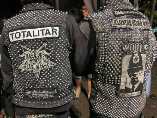 punk weste - (Punk, weste, Killernieten)