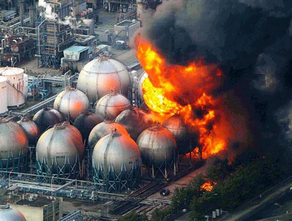 Was sind das für Kugeln (Fukushima Daiichi)?