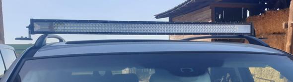 Was sind das für Lichter am Auto?