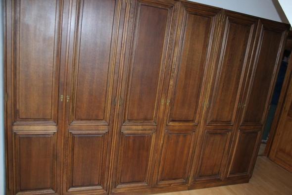 3 Kleiderschränke - (Möbel, Holzart, Haushaltsauflösung)