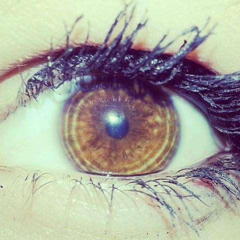 Auge-Ringe - (Menschen, Biologie, Augen)