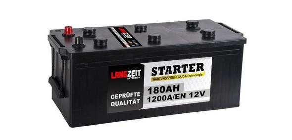 Was sind das für schwarze Deckel auf einer LKW-Batterie?