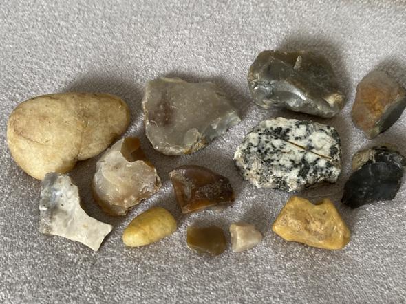 Was sind das für Steine - besondere?