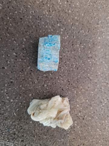 Was sind das für Steine und Mineralien?