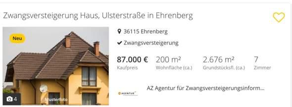 Was sind das für ultimativ billige Immobilien die ich gefunden hab richtig tolles Haus für nur 87.000€?