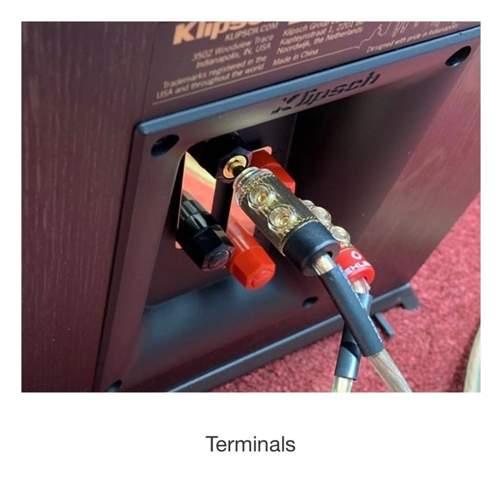 Was sind das hier für Kabel die in den Lautsprecher gehen wie nennt sich der Anschluss?