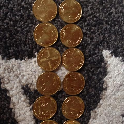 Goldene Münzen  - (Wert, Muenzen, Fund)