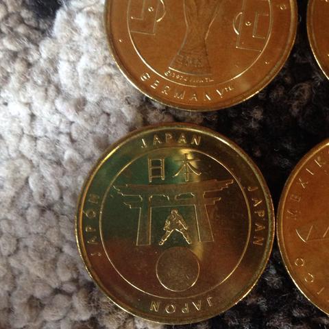 Münzen in gold  - (Wert, Muenzen, Fund)