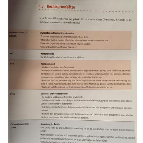Bild 2 (die infoblätter dazu) - (Gesetz, Rechte, Verordnung)