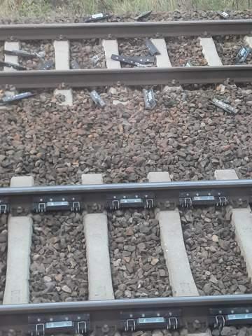 Was sind die SilbernenTeile an den Schienen?