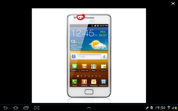 Das meine ich - (Handy, Technik, Samsung Galaxy S2)
