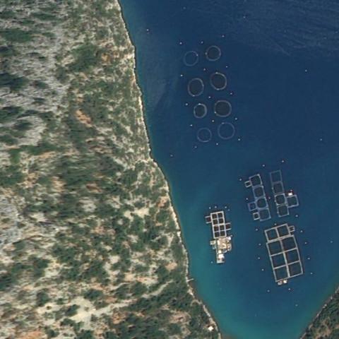 Die kreise & vierecken - (Meer, Griechenland)