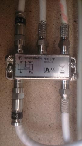 Hirschmann VFC 0741 (Um 180° gedreht) - (Internet, TV, Elektronik)