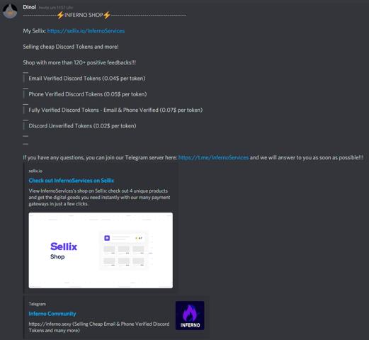 Was sind Discord-Token?
