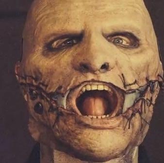 Was soll die aktuelle Maske von Corey Taylor (Slipknot) darstellen?